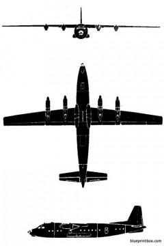 antonov an 10 model airplane plan