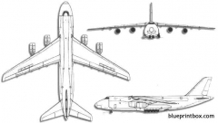 antonov an 124 condor 2 model airplane plan