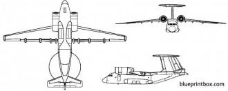 antonov an 71 madcap model airplane plan