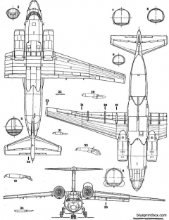 antonov an 72 model airplane plan