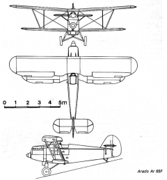ar65 3v model airplane plan