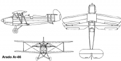 ar66 3v model airplane plan