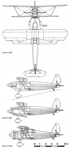 ar68 3v model airplane plan