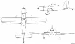 ar 5 model airplane plan