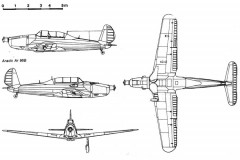 arado96 2 3v model airplane plan