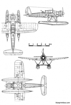 arado ar 196 model airplane plan
