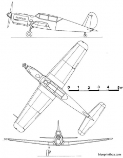 arado ar 396 model airplane plan
