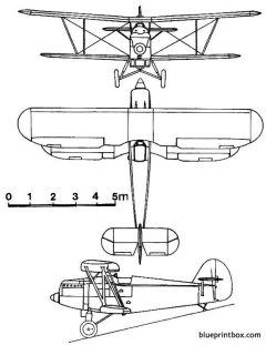 arado ar 65 model airplane plan