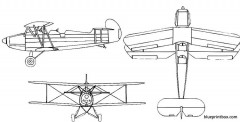 arado ar 66 model airplane plan