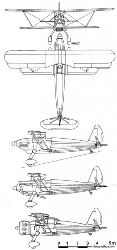 arado ar 68 model airplane plan