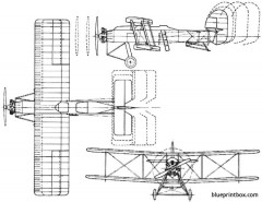 armstrong whitworth ape 1926 england model airplane plan