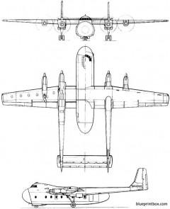 armstrong whitworth argosy model airplane plan
