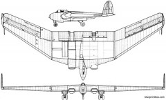 armstrong whitworth aw 52 model airplane plan