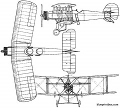 armstrong whitworth wolf 1923 england model airplane plan
