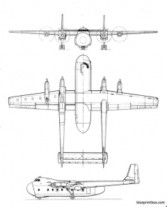 armstrong whitworthargosy model airplane plan