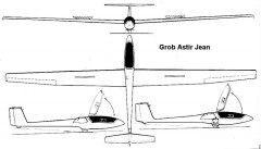 astir jean 3v model airplane plan