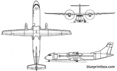 atr 72 model airplane plan