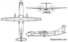 atr 72 model airplane plan