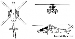 augusta a129 mangusta model airplane plan