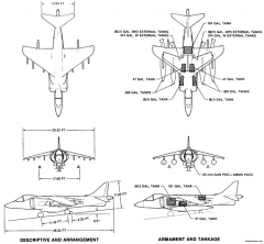 av 8b 2 model airplane plan