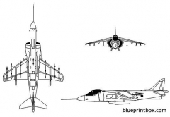 av 8b ii model airplane plan