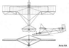 avia 10a 3v model airplane plan