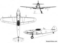 avia s 199 model airplane plan
