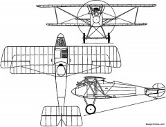 aviatik d ii germany model airplane plan
