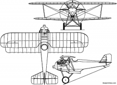 aviatik d iii germany model airplane plan
