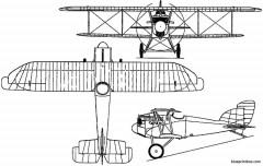 aviatik d vii germany model airplane plan