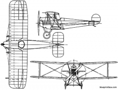 avro 534  543  554 baby 1919 england model airplane plan