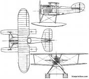 avro 539 1919 england model airplane plan