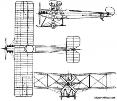 avro 548 1919 england model airplane plan