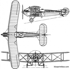 avro 549 aldershot 1922 england model airplane plan