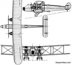 avro 557 ava 1924 england model airplane plan