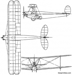 avro 558 1923 england model airplane plan