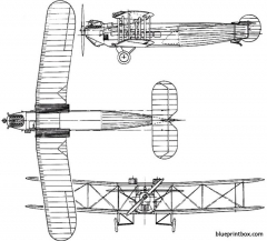 avro 561  563 andover 1924 england model airplane plan