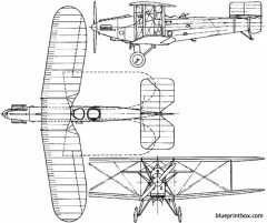 avro 571 572 buffalo 1926 england model airplane plan