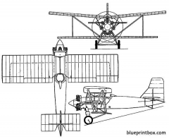 avro 584 avocet 1927 england model airplane plan
