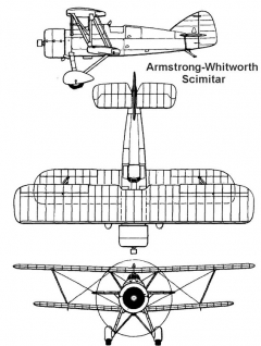 aw scimitar 3v model airplane plan