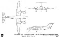 b200 model airplane plan