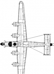 b24d 2 3v model airplane plan