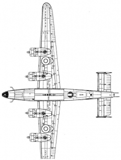 b24d 3 3v model airplane plan