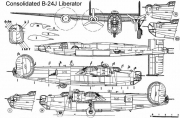b24j 1 3v model airplane plan