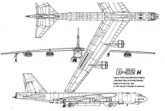 b52 1 3v model airplane plan