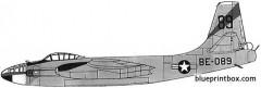 b 45c tornado model airplane plan