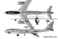 b 47 stratojet model airplane plan
