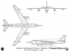 b 47a model airplane plan