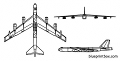 b 52 2 model airplane plan