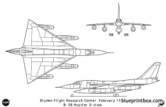 b 58 model airplane plan